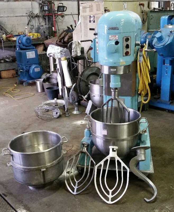 60 Quart Hobart Mixer, Stainless Steel
