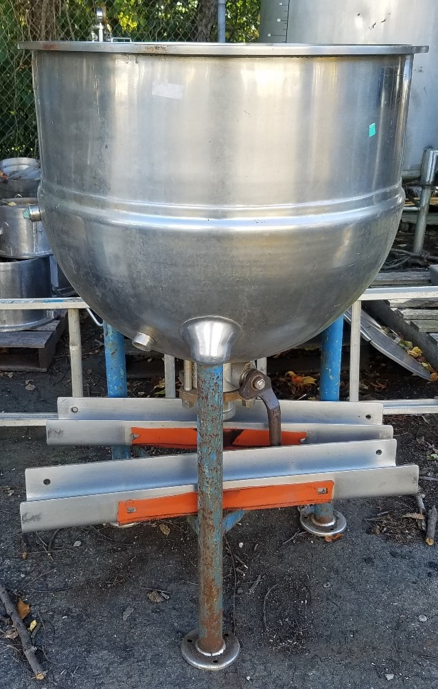 60 Gallon Jacketed Kettle, Type 316 Stainless Steel