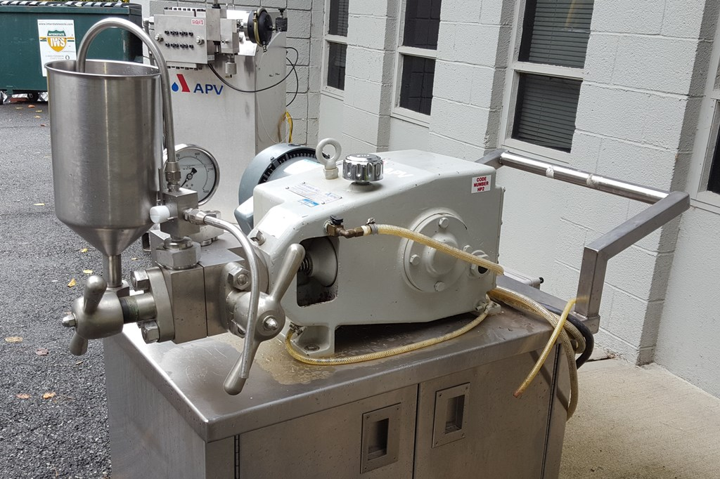 APV/Gaulin Homogenizer, Lab Size, Model 15MR-8TA, S/S