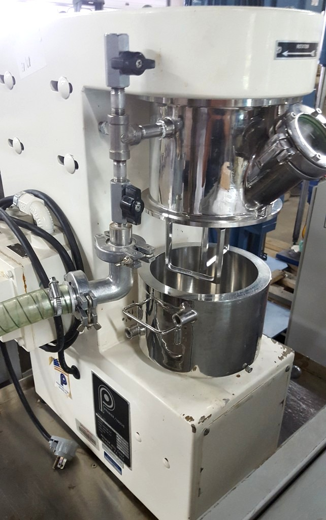 1.5 liter Premier Vacuum Jacketed Double Planetary Mixer, Sanitary S/S