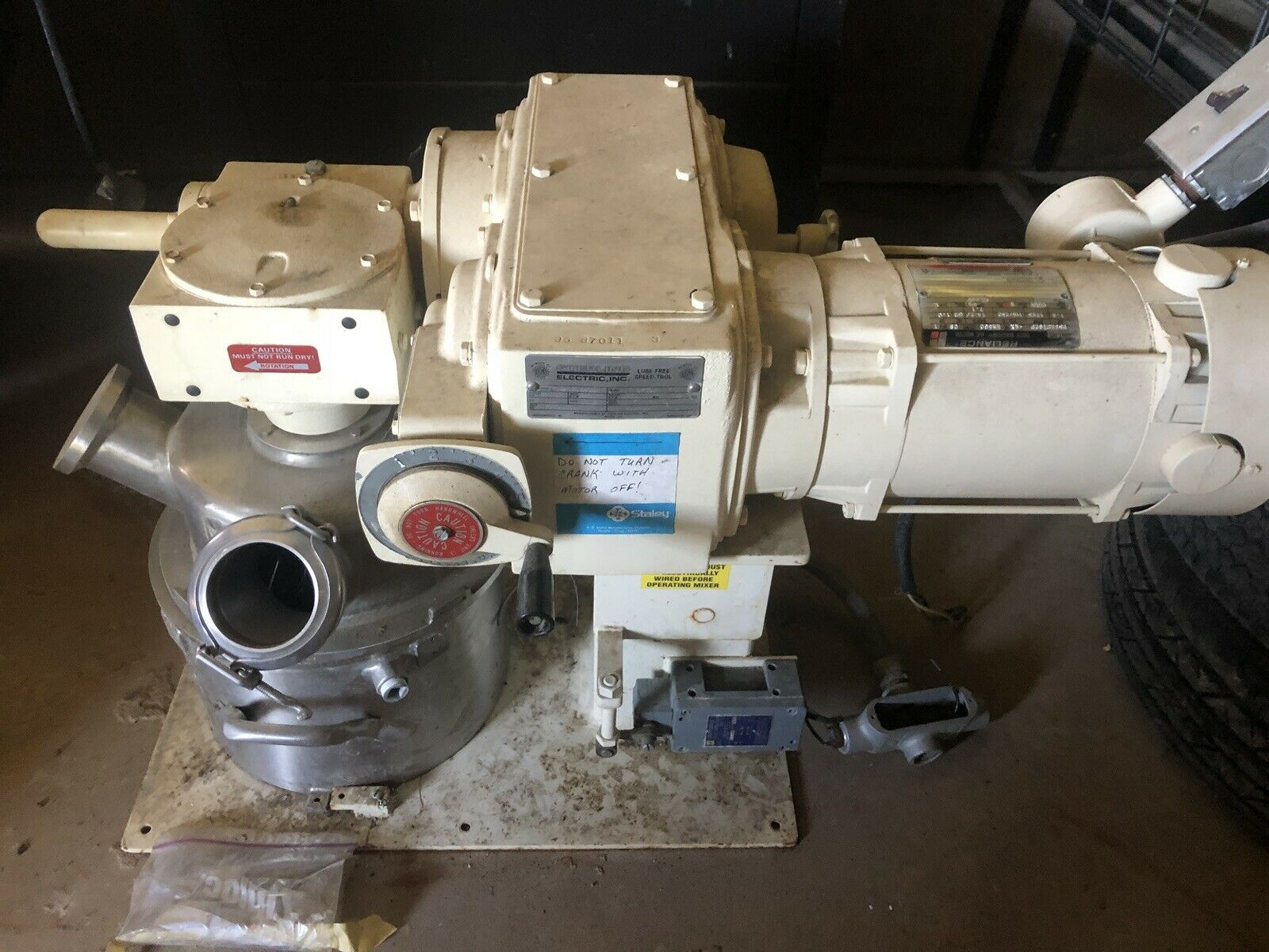 2 Gallon Ross Jacketed Vacuum Planetary Mixer, Sanitary S/S