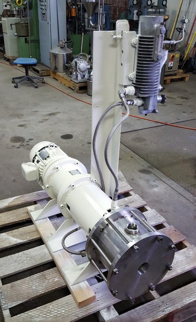 5 Hp  Inline High Shear Mixer/ Emulsifier, S/S